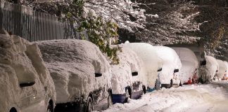 Auto očistite od snehu, inak hrozí pokuta
